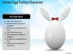 Business Concepts Easter Egg Funny Character Success Images