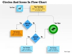 Business Daigram Circles And Icons In Flow Chart Presentation Templets