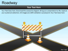 Business Decision Crossroads PowerPoint Slides And Ppt Diagram Templates