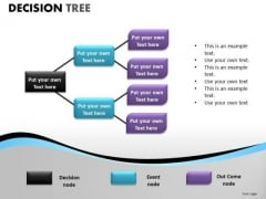 Business Decision Tree Diagram PowerPoint Templates And Editable Ppt Slides