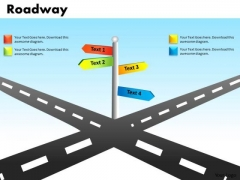 Business Decisions Crossroads PowerPoint Slides And Ppt Templates