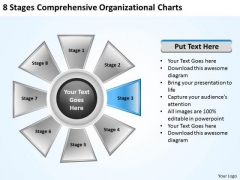 Business Development Strategy Comprehensive Organizational Charts Creative Marketing Concepts