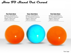 Business Development Strategy How To Stand Out From The Crowd Clipart