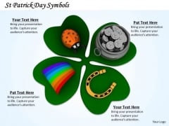 Business Development Strategy Patrick Day Symbols Icons Images