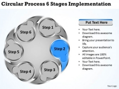 Business Development Strategy Template 6 Stages Implementation Basic Marketing Concepts