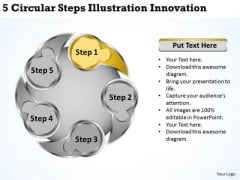 Business Development Strategy Template Illustration Innovation Developing