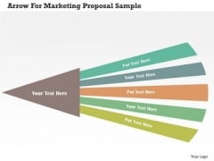 Business Diagram Arrow For Marketing Proposal Sample PowerPoint Templates