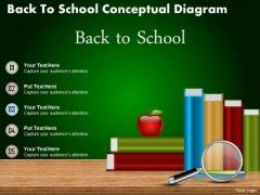 Business Diagram Back To School Conceptual Diagram PowerPoint Ppt Presentation