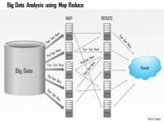 Business Diagram Big Data Analysis Using Map Reduce Batch Processing Ppt Slide