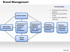 Business Diagram Brand Management PowerPoint Ppt Presentation