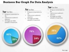 Business Diagram Business Bar Graph For Data Analysis Presentation Template