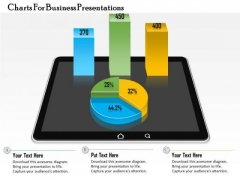 Business Diagram Charts For Business Presentations Presentation Template