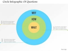 Business Diagram Circle Infographic Of Questions Presentation Template
