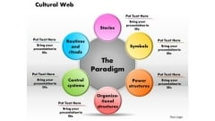 Business Diagram Cultural Web PowerPoint Ppt Presentation