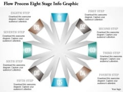 Business Diagram Flow Process Eight Stage Info Graphic Presentation Template