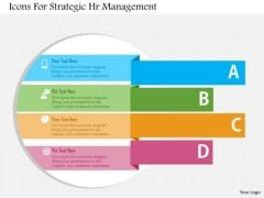 Business Diagram Icons For Strategic Hr Management Presentation Template