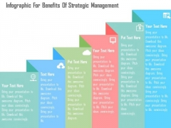 Business Diagram Infographic For Benefits Of Strategic Management Presentation Template