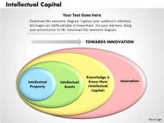 Business Diagram Intellectual Capital PowerPoint Ppt Presentation