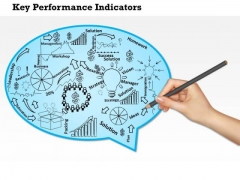 Business Diagram Key Performance Indicators Of A Company PowerPoint Ppt Presentation