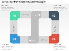 Business Diagram Layout For Development Methodologies Presentation Template