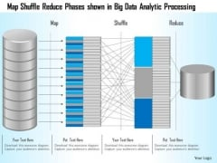 Business Diagram Map Shuffle Reduce Phases Shown In Big Data Analytic Processing Ppt Slide