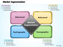 Business Diagram Market Segmentation PowerPoint Ppt Presentation