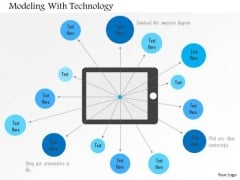 Business Diagram Modeling With Technology Presentation Template