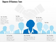Business Diagram Of Business Team Presentation Template