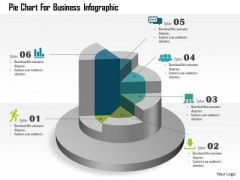 Business Diagram Pie Chart For Business Infographic Presentation Template