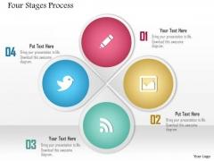 Business Diagram Process Four Stages Process Presentation Template