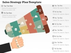 Business Diagram Sales Strategy Plan Template Presentation Template
