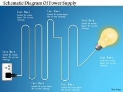 Business Diagram Schematic Diagram Of Power Supply Presentation Template