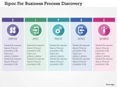Business Diagram Sipoc For Business Process Discovery Presentation Template