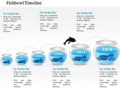 Business Diagram Six Staged Fish Bowl Diagram Presentation Template