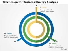 Business Diagram Web Design For Business Strategy Analysis Presentation Template