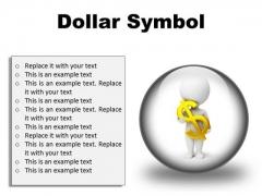 Business Dollar Finance PowerPoint Presentation Slides C