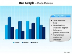 Business Education PowerPoint Templates Business Bar Graph Data Driven Ppt Slides