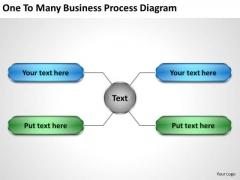 Business Entity Diagram PowerPoint Templates Download Process Slides