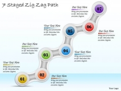 Business Expansion Strategy 7 Staged Zig Zag Path Strategic Plan Format