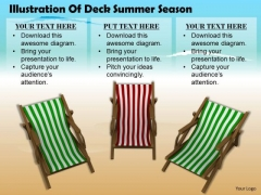 Business Expansion Strategy Illustration Of Deck Chairs Summer Season Pictures