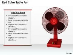 Business Expansion Strategy Red Color Table Fan Pictures Images