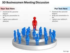 Business Flow Charts Meeting Discusstion PowerPoint Templates Ppt Backgrounds For Slides