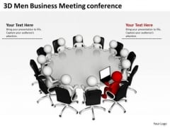 Business Flow Diagrams Meeting Conference PowerPoint Templates Ppt Backgrounds For Slides