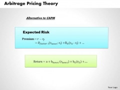 Business Framework Arbitrage Pricing Theory PowerPoint Presentation