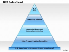 Business Framework B2b Sales Lead PowerPoint Presentation
