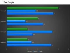 Business Framework Bar Chart In PowerPoint Presentation