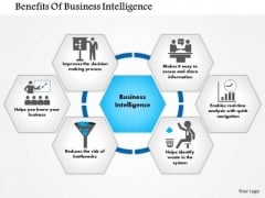 Business Framework Benefits Of Business Intelligence PowerPoint Presentation