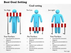 Business Framework Best Goal Setting PowerPoint Presentation