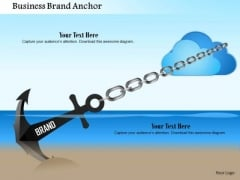 Business Framework Business Brand Anchor PowerPoint Presentation