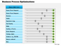 Business Framework Business Process Optimizations PowerPoint Presentation